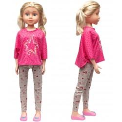 Кукла, умеющая ходить Сестра 80 см дизайн-3 SumSum sum950140