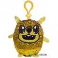 Мягкая игрушка с пайетками Shimmeez S2 Энергичный Мопс на клипсе 9 см SH01052P