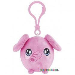 Ароматная мягкая игрушка Squeezamals S2 Милый Слон на клипсе 6 см SQS00710E