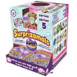 Мягкая игрушка-сюрприз антистресс в шаре S5 Surprizamals SUR20278W, 15 видов