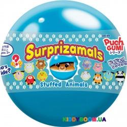 Мягкая игрушка-сюрприз антистресс в шаре Крошки Кавай Surprizamals SUR20296W, 12 видов