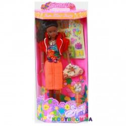 Кукла Сьюзи темнокожая (с наклейками) 2 вида Susy 2815WBX-RG