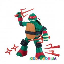 Фигурка Черепашки-ниндзя Рестайлинг с боевым панцирем Рафаэль (12 см) TMNT 90733