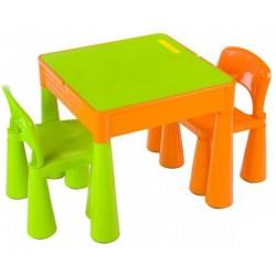 Комплект детской мебели Tega Mamut столик и 2 стульчика