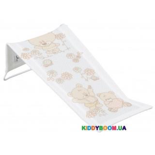 Горка для купания 3D мембрана Teddy Bear white Tega Baby MS-026-103