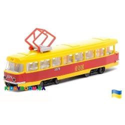Трамвай Технопарк SB-17-18WB UA
