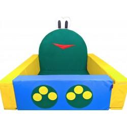 Сухой бассейн Лягушонок 140 х 140 х 40/15 см Tia-sport sm-0723