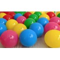 Шарики для сухого бассейна диаметром 8 см Тia-sport sm-0220