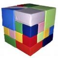 Мягкий конструктор Кубик Рубика 50 х 50 х 1 см (28 эл) Tia-sport sm-0411