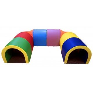 Игровой Тоннель Подкова, 8 секций Tia-sport sm-0450
