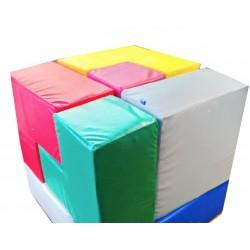 Мягкий конструктор Кубик Рубика 75 х 75 х 75 см (7 эл.) Tia-sport sm-0500