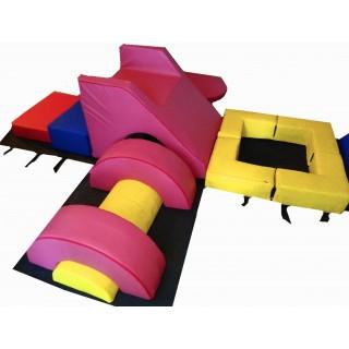 Полоса препятствий Гимнастический Бокс (400 х 300 см) Tia-sport sm-0528