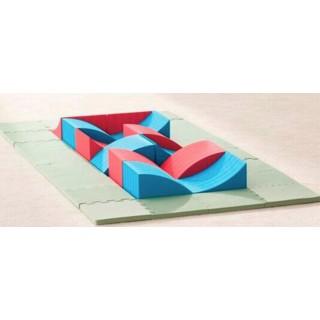 Тактильная дорожка равновесия (24 х 24 х 13 см) 12 элементов Tia-sport sm-0832