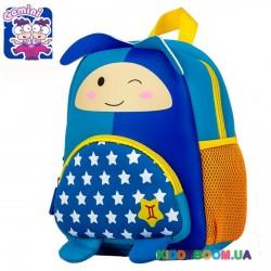Детский рюкзак Близнецы синий Tochang TC2015107