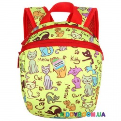 Детский рюкзак Кися желтый Tochang TC2015107