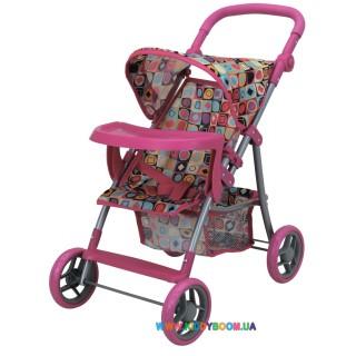Прогулочная коляска для куклы с бампером «Milana» Todsy 9366-T