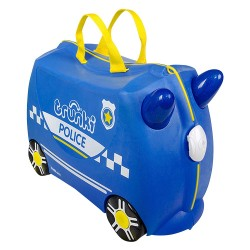 Детский чемодан Trunki Percy police car (0323-GB01-UKV)