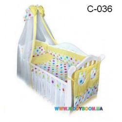 Постельный комплект Twins comfort Цветные шарики 8 элементов С-036