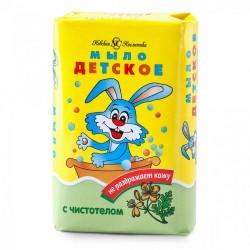 Туалетное мыло с чистотелом Детское 90 гр Невская косметика 01583