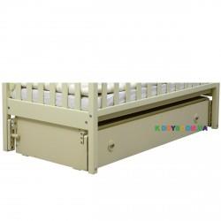 Ящик с продольным маятниковым механизмом для кроватей Верес ЛД12 слоновая кость 40.41.1.04