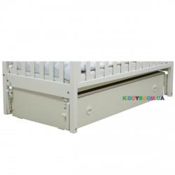 Ящик с продольным маятниковым механизмом для кроватей Верес ЛД12 белый 40.41.1.06