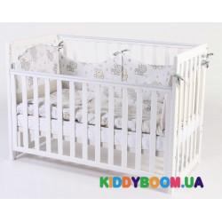 Детская кровать Верес Соня белая ЛД13 (13.1.1.1.06)