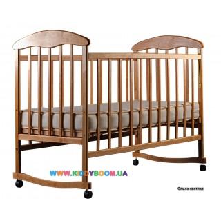 Детская кровать Наталка ольха светлая