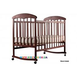 Детская кровать Наталка ольха тонированная