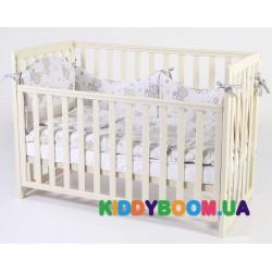 Детская кровать Верес Соня слоновая кость ЛД13 (13.1.1.1.04)