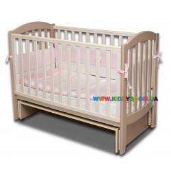 """Детская кровать Верес """"Соня ЛД 10"""" капучино 10.1.1.1.10"""
