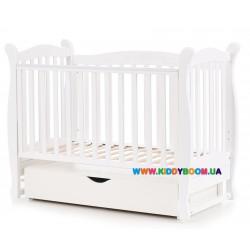 """Детская кровать Верес """"Соня ЛД15"""" белый 15.1.1.1.06"""