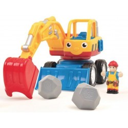 Игровой набор Dexter the Digger Экскаватор WOW TOYS 01027