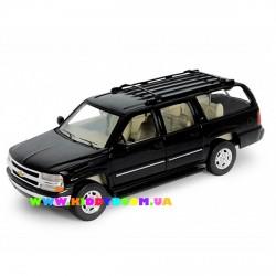 Машинка коллекционная 1:24 Chevrolet Suburban 2001 Welly 22090W