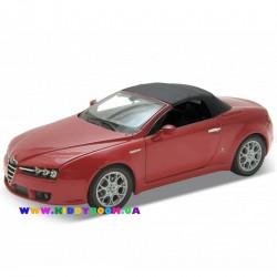 Машинка коллекционная 1:24 Alfa Romeo Spider Welly 22484H-W