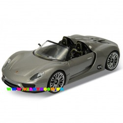 Машинка коллекционная 1:24 Porsche 918 Spyder Welly 24031W