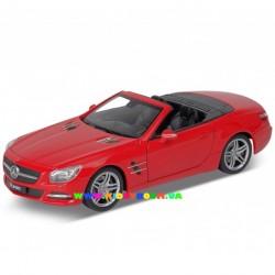 Машинка коллекционная 1:24 Mercedes-Benz SL500 2012 Welly 24041C-W