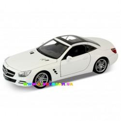 Машинка коллекционная 1:24 Mercedes-Benz SL500 (Hard-Top) 2012 Welly 24041H-W