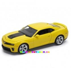 Машинка коллекционная 1:24 Chevrolet Camaro ZLI Welly 24042W