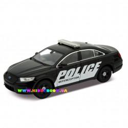Машинка коллекционная 1:24 Ford Police Interceptor Welly 24045W