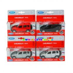 Машинка коллекционная 1:34-39 Chevrolet Niva Welly 42379W