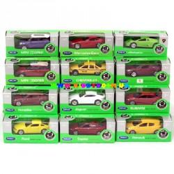 Машинки коллекционные 1:60-64 12 видов Welly 52020-36WD-IN-16-A