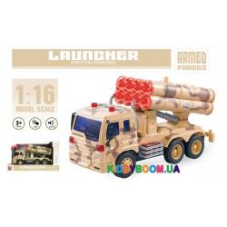 Фрикционная машинка военная Wenyi со светом и звуком WY651D