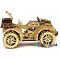 Механическая модель 3D Конструктор Квадроцикл Wood Trick ФР-00000025
