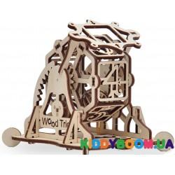 Механическая модель 3D Конструктор Колесо фортуны Wood Trick ФР-00000116