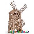 Механическая модель 3D Конструктор Мельница Wood Trick ФР-00000020