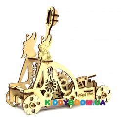 Механическая модель 3D Конструктор Катапульта Wood Trick ФР-00000021