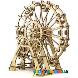 Механическая модель 3D Конструктор Колесо обозрения Wood Trick ФР-00000022