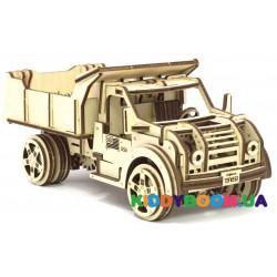 Механическая модель 3D Конструктор Грузовик Wood Trick ФР-00000023