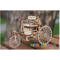 Механическая модель 3D Конструктор Первый автомобиль Wood Trick ФР-00000028