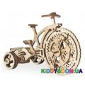 Механическая модель 3D Конструктор Велосипед Wood Trick ФР-00000317